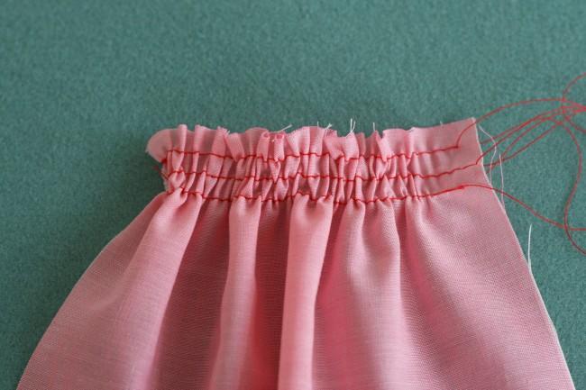 Gathering stitch