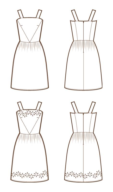 Une Robe Dessin Facile Robes De Soiree Populaires En France