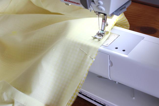 sew fabric & lining
