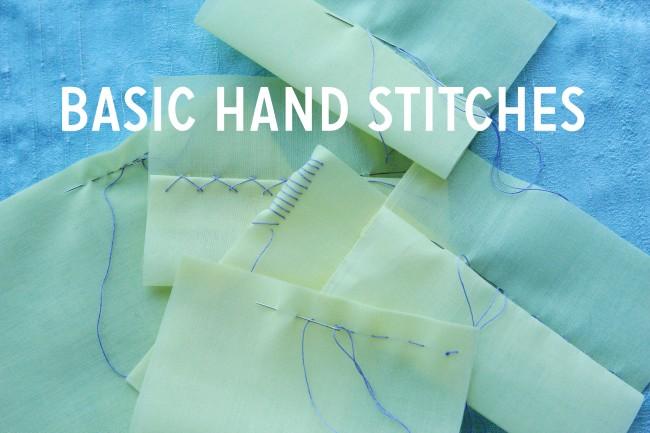 Basic Hand Stitches Colette Blog