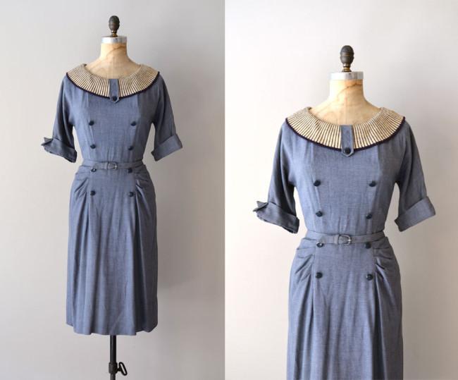dear-golden-blue-dress