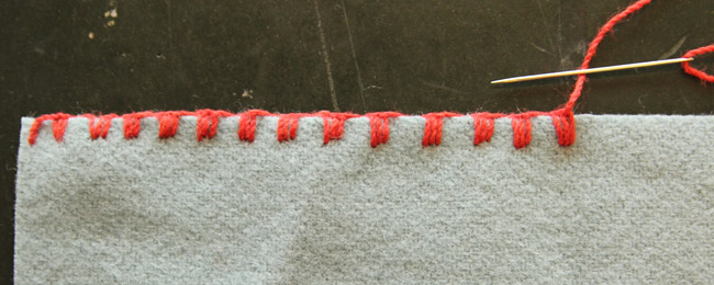 Tutorial: 5 Simple Blanket Stitch Variations | Colette Blog