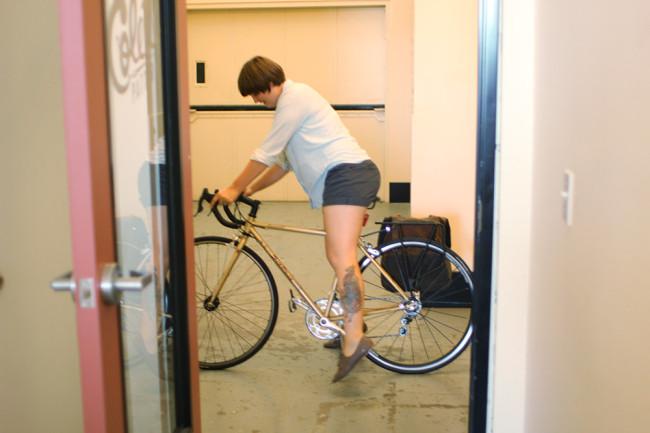 kristen-mounting-bike