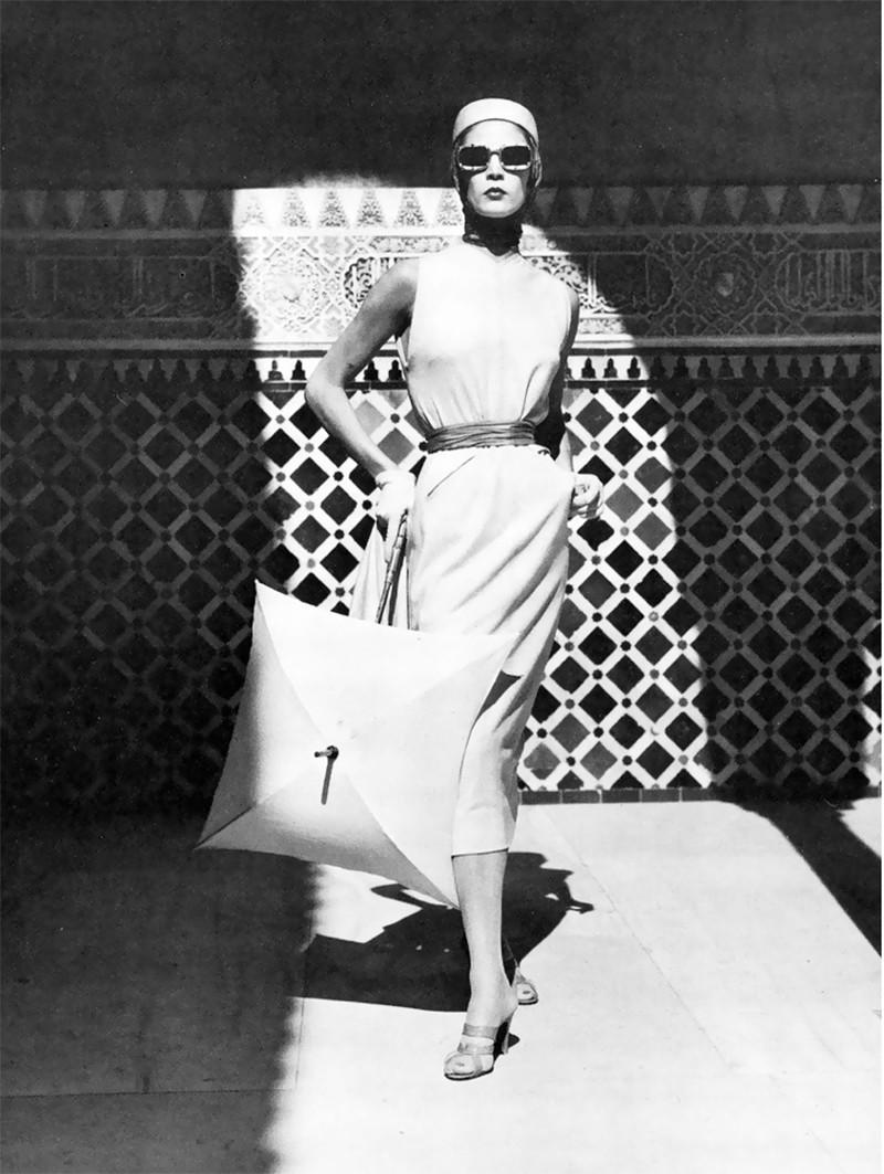 Jean Patchett, Granada, Spain, by Louise Dahl-Wolfe (1953)